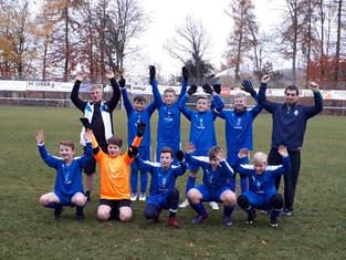 D1-Jugend steigt in die Kreisliga auf und erreicht das Endturnier der Hallenkreismeisterschaft.
