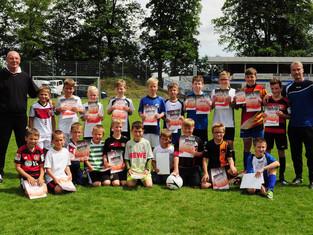 Fußballschule von ehemaligem Bundesliga-Profi zu Gast in Kempenich.