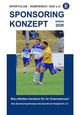 Sponsoring Konzept VEREIN 2020_Deckblatt
