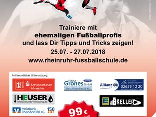 Rhein-Ruhr Fußballschule (by Holger Gaißmayer) zum dritten Mal zu Gast in Kempenich.