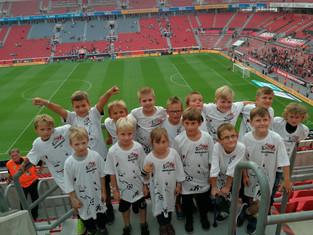F-Jugend schnuppert Bundesliga-Luft.
