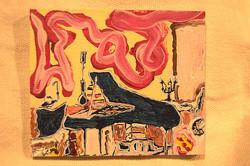 El piano de Hanne Darboven.