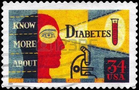 13162289-usa--circa-2001-a-stamp-printed-in-usa-shows-the-picture-about-diabetes-awareness-circa-200