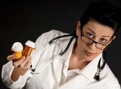 migraine doctor with pills