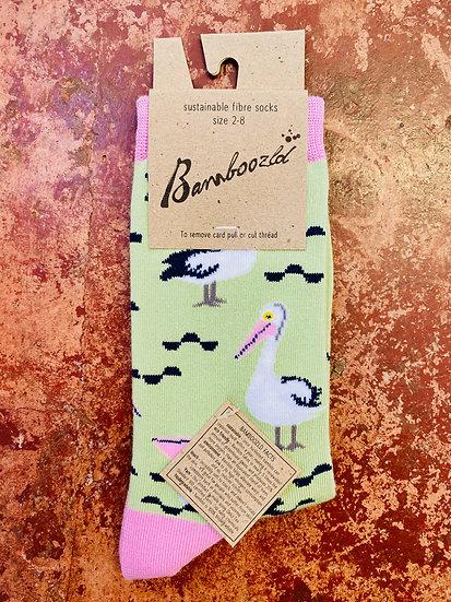 Bamboozld Ladies Socks - Pelican Size 2-8