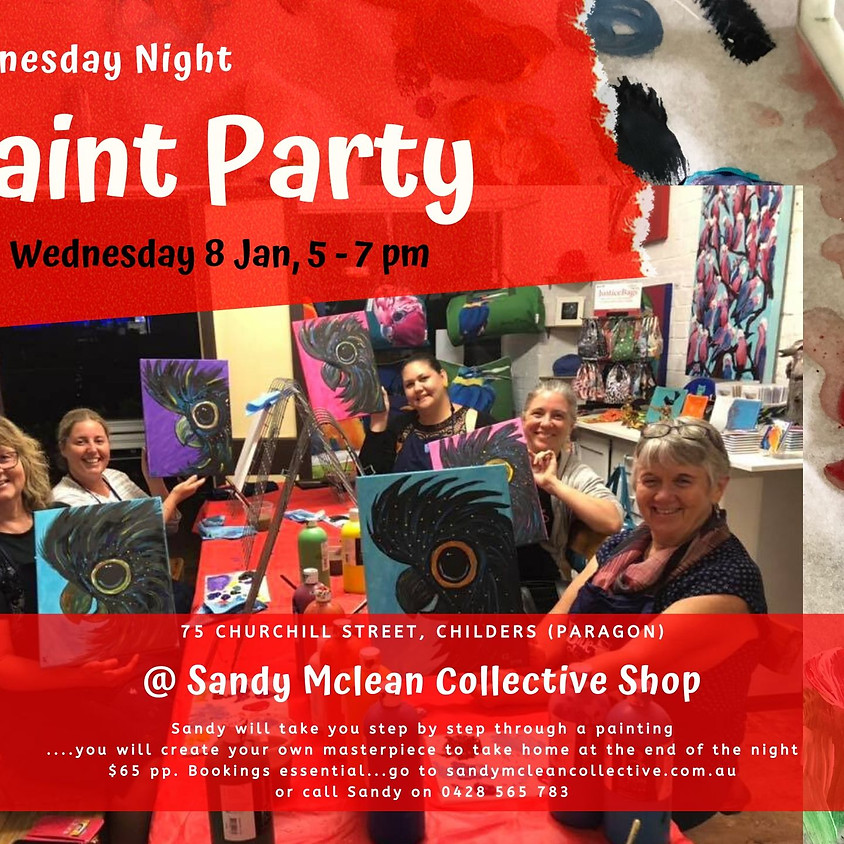 Paint Party: 8 January