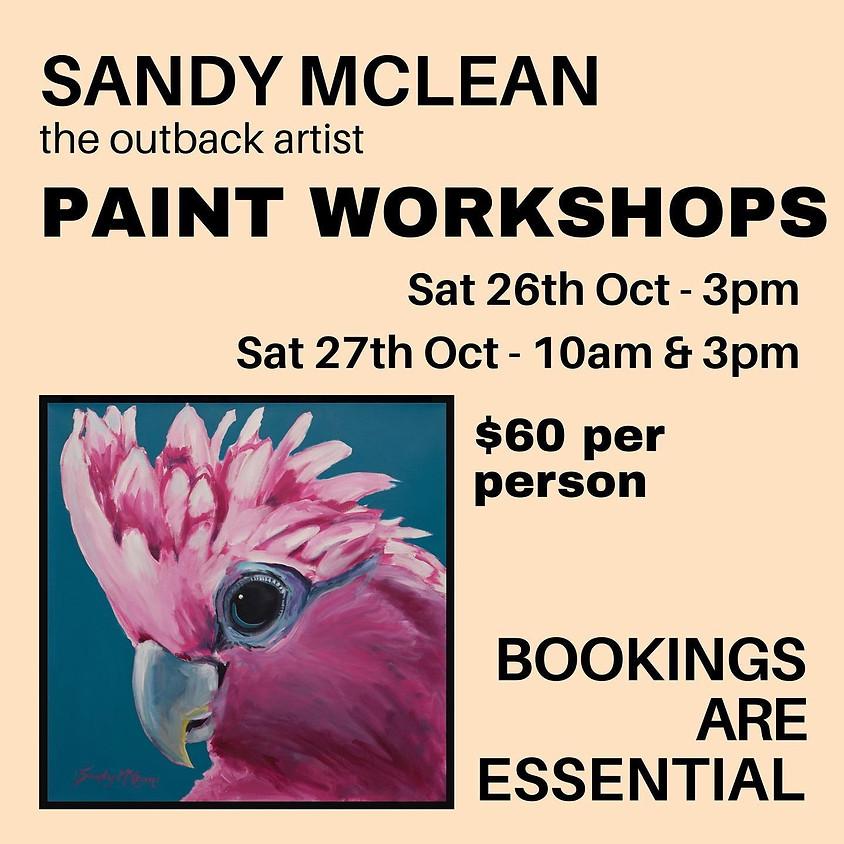 Paint WorkShop - Pittsworth Sunday morning