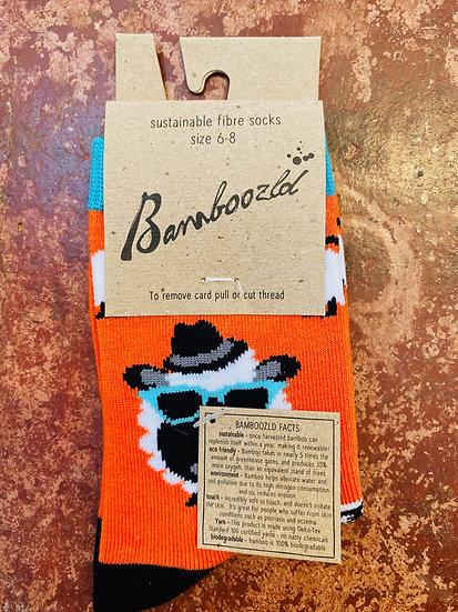 Bamboozld Kids Socks - Sheep Size 6-8