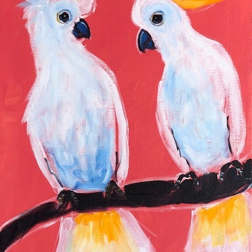 ONLINE Painting: Group Session: SUNDAY AFTERNOON