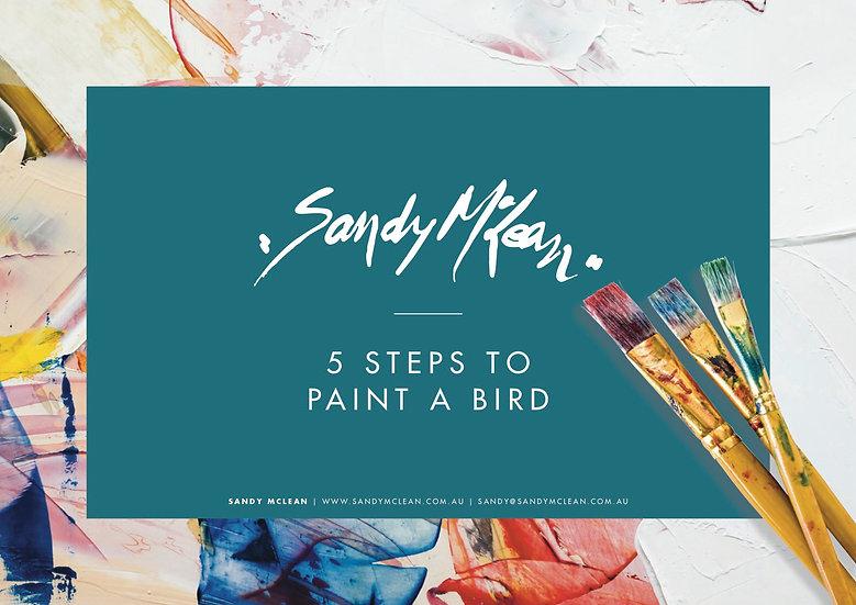 eBook: paint a bird