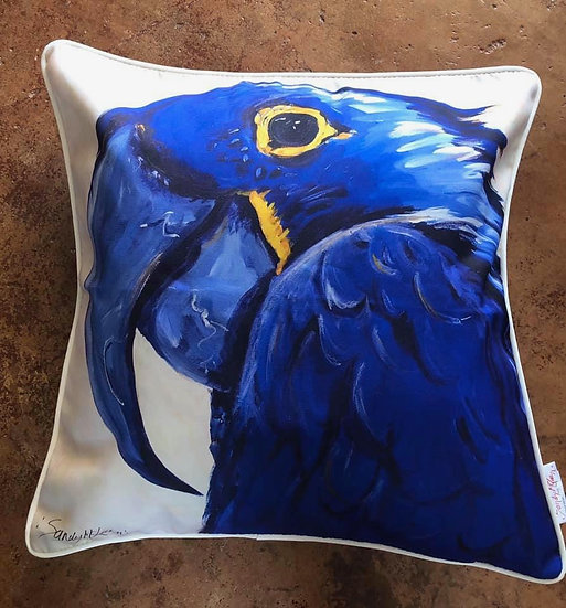 Big Blue Cushion