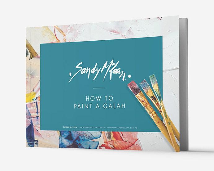 eBook: how to paint a Galah