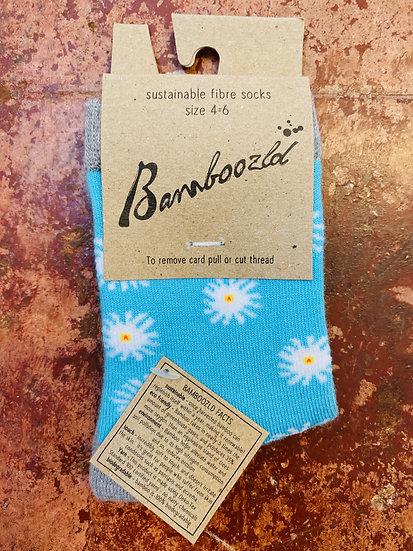 Bamboozld Kids Socks - Daisy Size 4-6