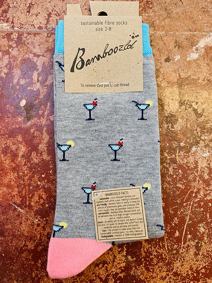 Bamboozld Ladies Socks - Martini Size 2-8