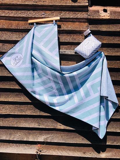Sky Gazer Beach Towel - Stripes