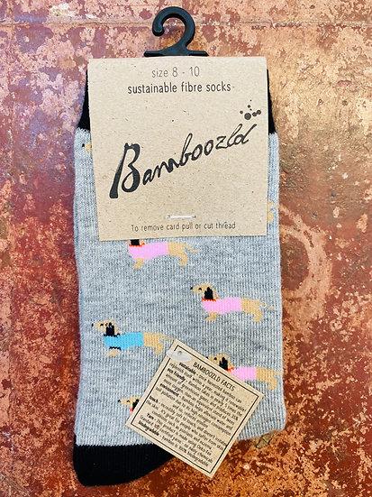 Bamboozld Kids Socks - Sausage Dog Size 8-10