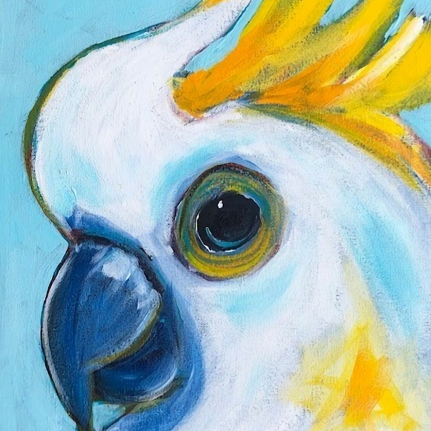 ONLINE Painting: Group Session: SATURDAY MORNING