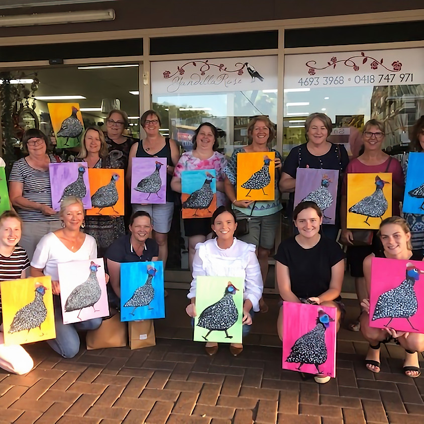 Mount Colliery Hall Paint Party