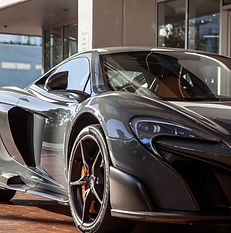 Wax Gray Sports Car