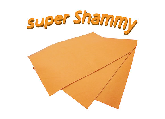 Simply Z-Best Super Chamois (3 Large Chamois')
