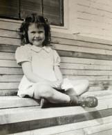 Fran Leeper Buss as a child