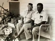 Mazie Morgan and husband