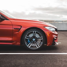 Waxe Red BMW