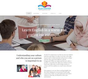 Non profit web design project