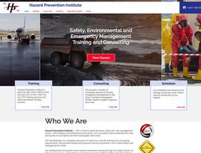 Hazard safety training web design project