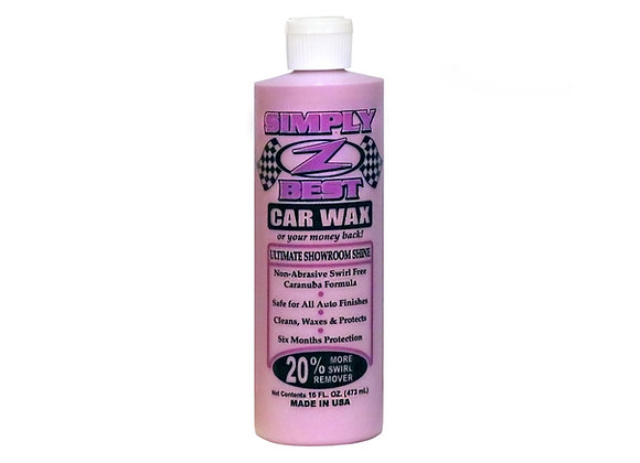 Simply Z-Best Car Wax (1 - 16oz bottle)
