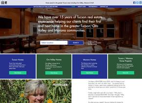 Tucson real estate web design project