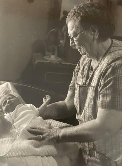 Jesusita and Newborn