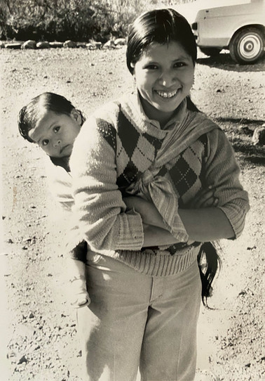 Maria L. and baby Rosie