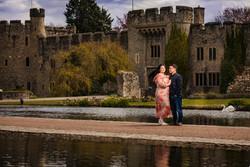 Allington Castle Engagement shoot