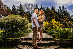 Hayne House couple in grounds