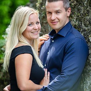 Alex and Victoria - Engagement shoot and Allington Castle