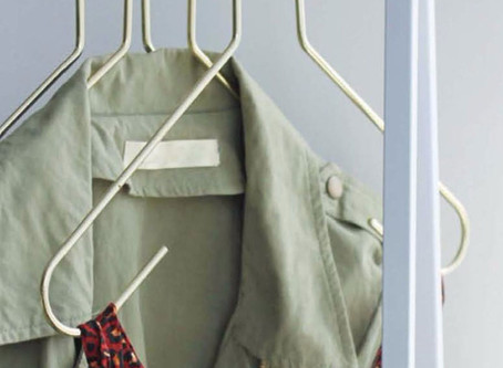 HOMEWOOD CLOTHES RACK