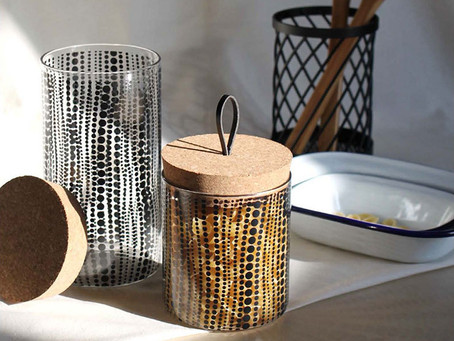 HOMEWOOD GLASS CANISTER
