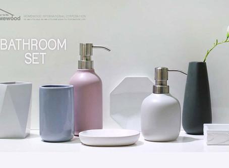 HOMEWOOD GEO BATHROOM SET