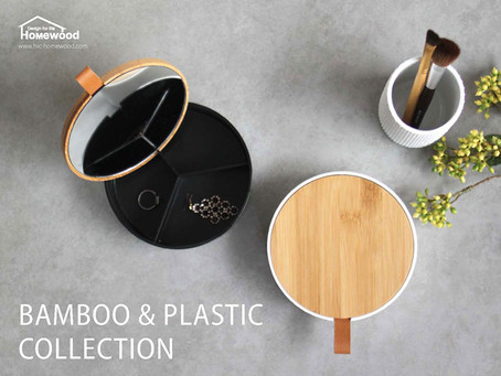 HOMEWOOD  BAMBOO & PLASTIC COLLECTION