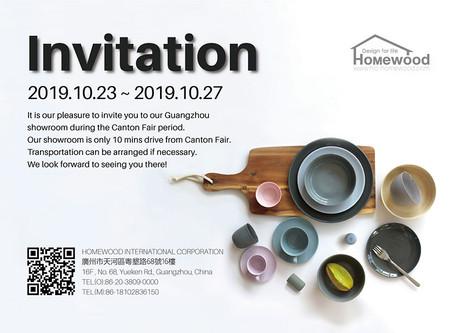 INVITATION - 2019 October