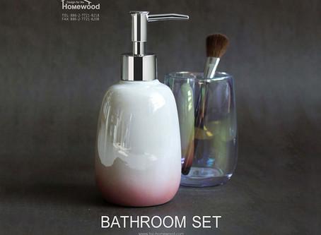 HOMEWOOD CERAMIC BATHROOM SET