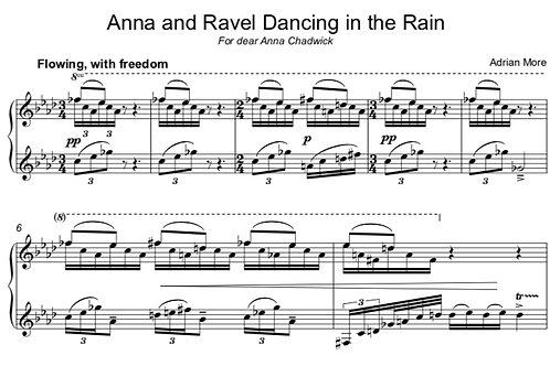 Anna and Ravel Dancing in the Rain
