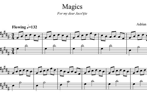 Magics - for Solo Piano