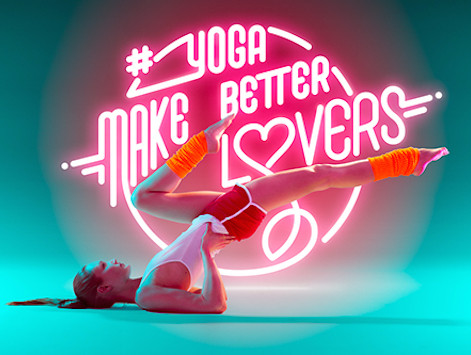 Yoga makes better Lovers...