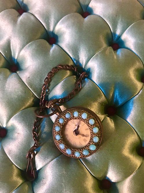 Sublime Rare Jumeau Chatelaine Watch