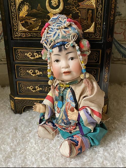 """12"""" J.D.Kestner 243 Asian Baby"""