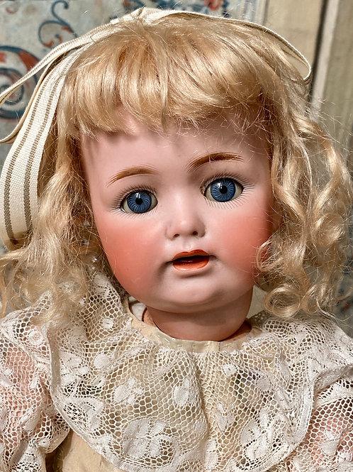 "Adorable 18"" Blue Sleep-eye Kestner 260"