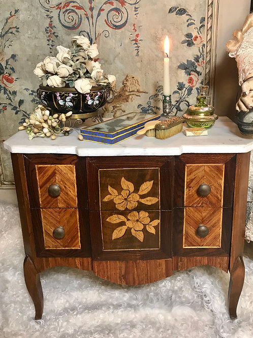 Gorgeous marble-topped dresser C. 1860+/-