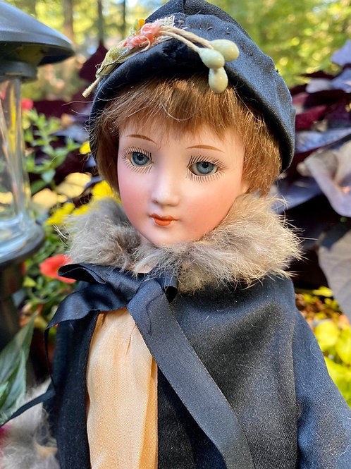 Fab 1469 Flapper Doll by Cuno, Otto, Dressel